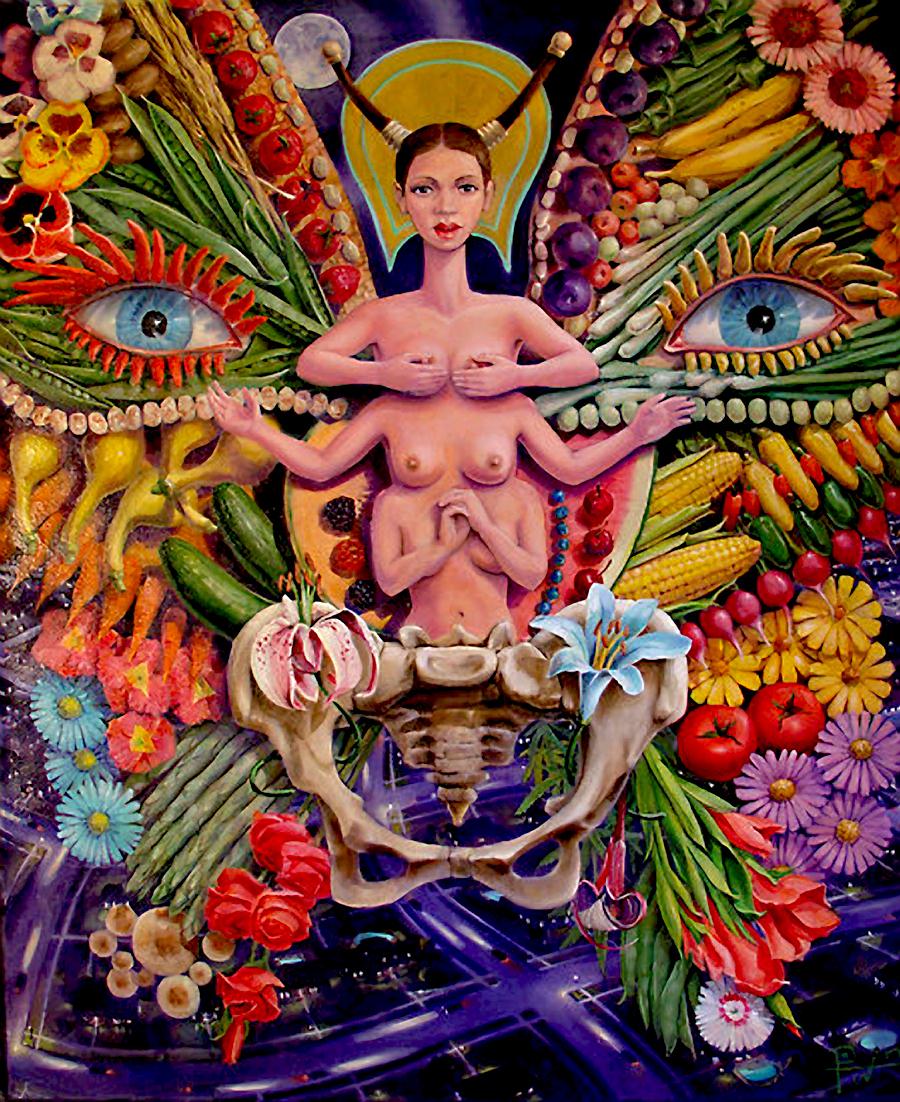 Art hippie et psychédélique - Page 5 Work.1770373.2.flat,550x550,075,f.above-the-land-of-plenty