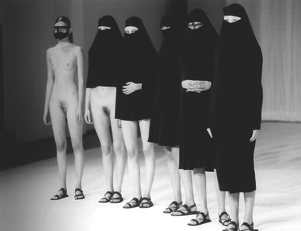 evolution of the burka