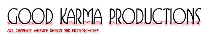 Good Karma Productions, Charlie Harvin's website